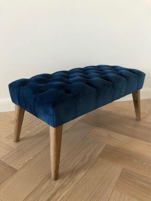 Mėlynas pufas - Velvet 14